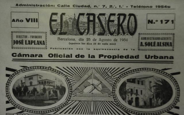 Portada de la revista en el año 1934